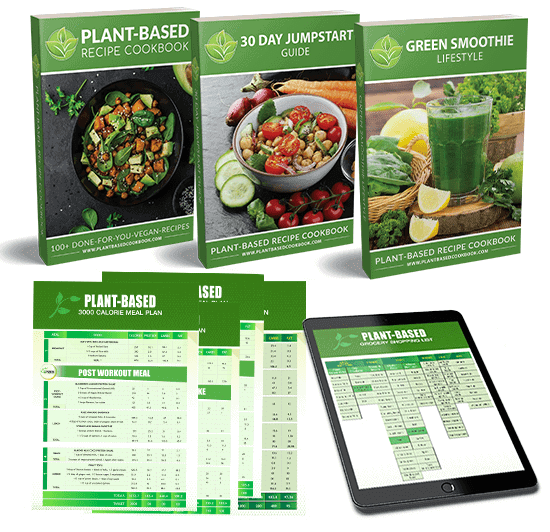 plant based recipe cookbook