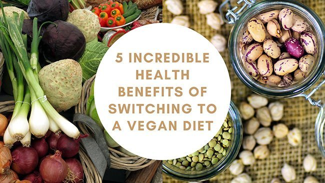 health benefits of switching to a vegan diet